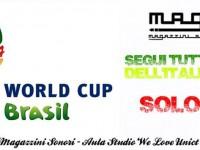 Mondiali 2014 in diretta ai Magazzini Sonori