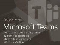 Guida all'utilizzo di Microsoft Teams