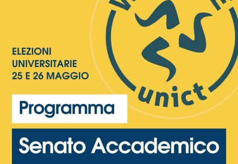 Programma elettorale Senato Accademico WE LOVE UNICT